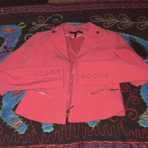 Pink slimming size two WHBM jacket